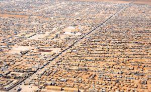 Za'atri flykringläger Jordanien