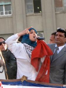 kvinna talar 2011